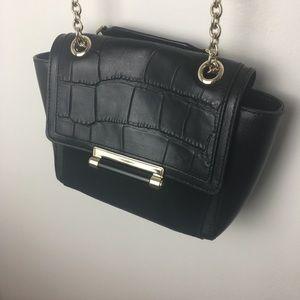 Diane von Furstenberg black purse